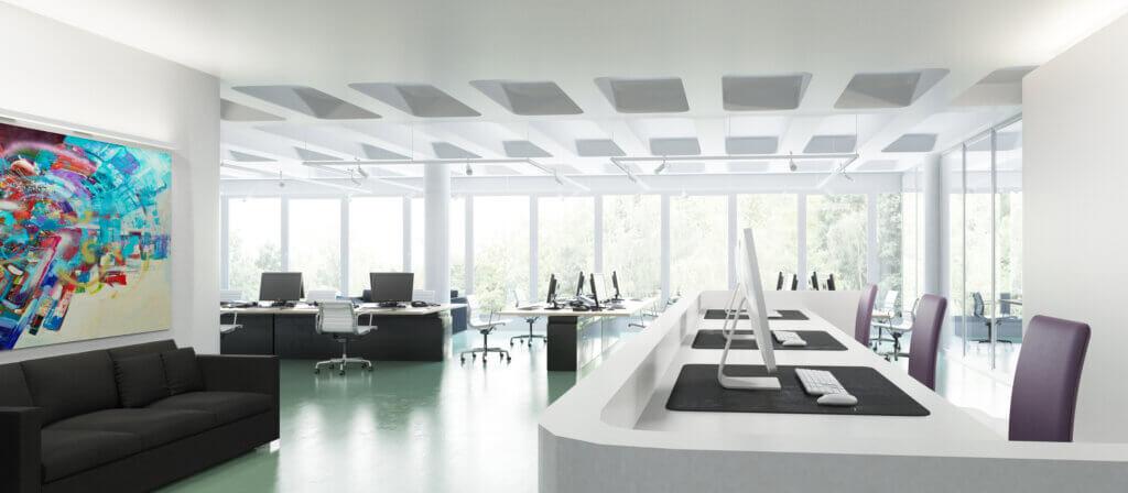 Modern Call Center Office Design